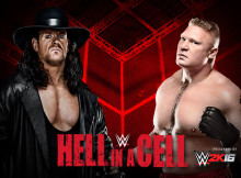 The Undertaker vs. Brock Lesnar-Hell in a Cell Match