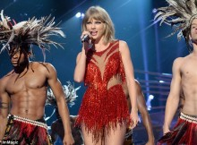 Trouble: On Friday, TMZ reported that 25-year-old pop superstar Taylor Swift has been sued for allegedly getting a former Denver radio DJ fired; Taylor was pictured on August 30